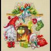 """Набор для вышивания """"В ожидании Рождества"""" """"Чудесная Игла"""""""